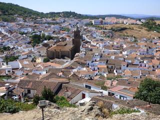 Cortegana, pueblo de Huelva, en el Parque Natural de la Sierra de Aracena y Picos de Aroche