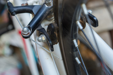 Rear bicycle brake