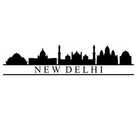 skyline new delhi