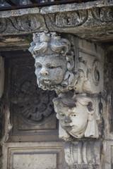 Baroque Masks in Catania Sicily