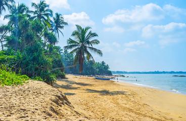 Sand beach in Bentota