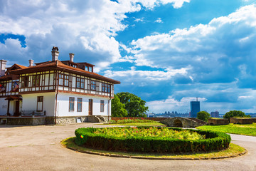 Mansion Institute for the Protection of Monuments in Kalemegdan Belgrade Fortress or Beogradska Tvrdjava