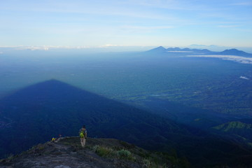 The Mount Agung summit, Bali island, Indonesia