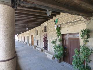 Cuacos de Yuste pueblo de Cáceres, Extremadura. Es la capital de La Vera