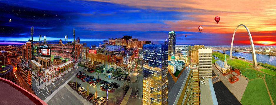 panorama St Louis