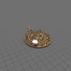 Ornate astrolabe