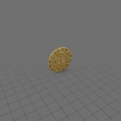 Gold coin 1