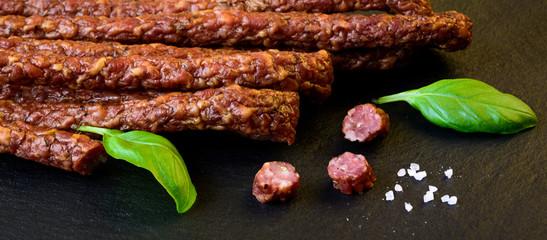 Snack stick smoked sausage