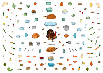 Holiday Food Icons