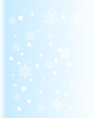 Snow And Winter Background