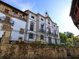 Candelario pueblo con encanto de Salamanca, Castilla y Leon muy proximoa Bejar