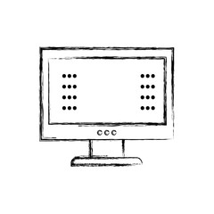 figure computer screen with web password technology