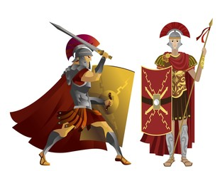 roman soldiers centurion warriors