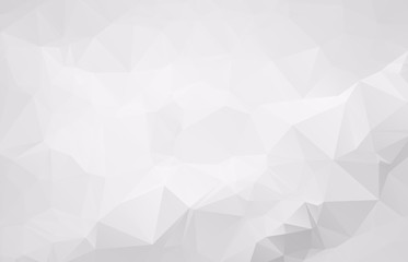 Light gray vector blurry triangle background design. Geometric background in style with gradient