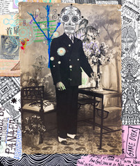 Scrapbooks,collage,patchworks bizzarri,surreali,misteriosi ed esoterici