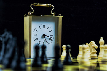 Chess game and time