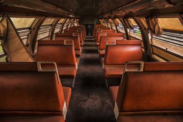 Treno abbandonato.