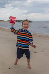 Sand Shovel Playtime