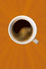 Kaffee mit Textfreiraum
