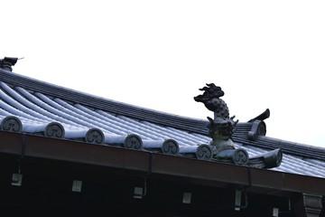 屋根の装飾瓦