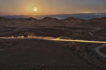 Пустыня ночная