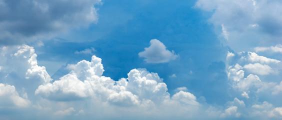 cloudy sky panorama photo