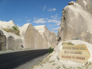 Road Entrance to Göreme