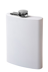 White flask for drinks
