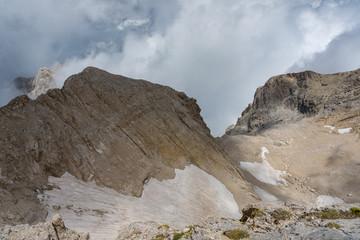 Gran Sasso d'Italia, il ghiacciaio del Calderone