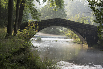 Bridge at Ilam Derbyshire