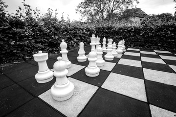 Game of chess with large pieces