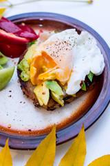 śniadanie z jajkiem
