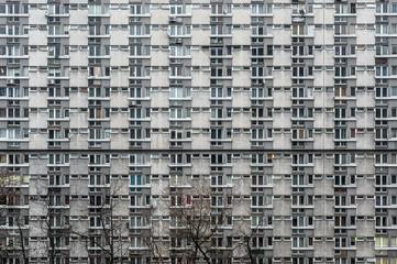 socrealistyczny blok mieszkalny