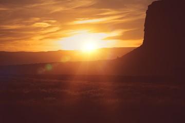 Wall Mural - Scenic Arizona Desert Sunset