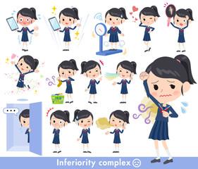school girl Sailor suit_complex