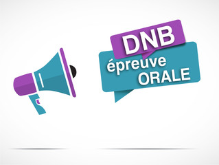 mégaphone : DNB épreuve orale