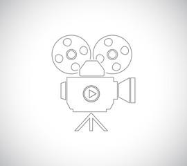 film cinema camera icon