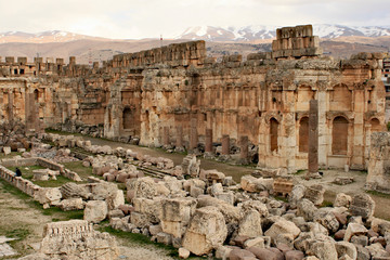 Baalbek - ruins of ancient Phoenician city