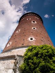 Średniowieczna wieża zamku