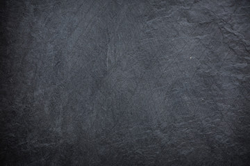 texture of Dark grey and black slate background.