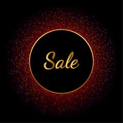 Gold-sale-circle