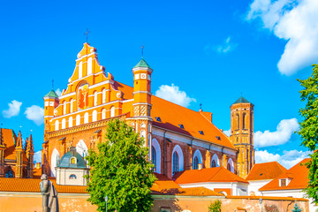 Church of St Anne in Vilnius, Lithuania Wall mural