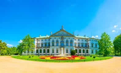 The Krasinski Palace in Warsaw, Poland