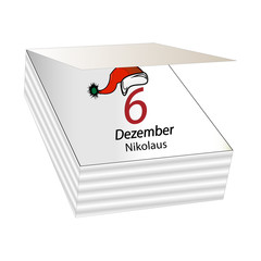 Kalender - Nikolaus 6. Dezember
