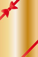 Weihnachten - Hintergrund abstrakt mit roter Schleife