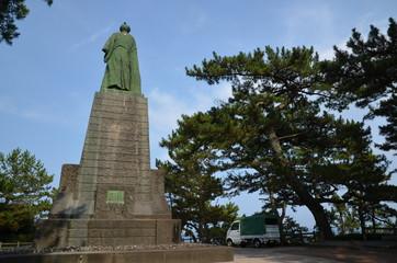 日本 高知県 高知市 桂浜 坂本龍馬 Japan Shikoku Kochi city Katsura hama sakamoto ryoma