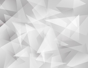 Vector of abstract white grometric background