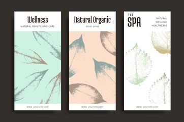 Spa creative cards