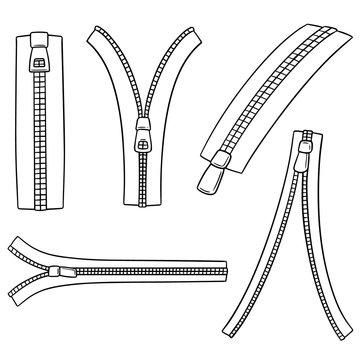 vector set of zip