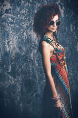 boho style dress